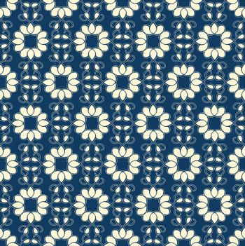 Abstract Ornate Seamless Pattern