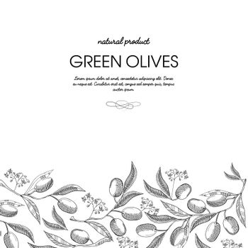 Typography Design Decorative Card Sketch