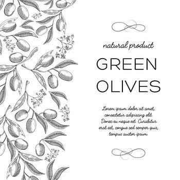 Typography Informative Design Card Doodle