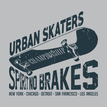 Urban Skaters Poster