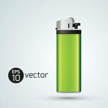3d Gas Lighter Template