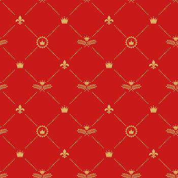 Antique royal background pattern