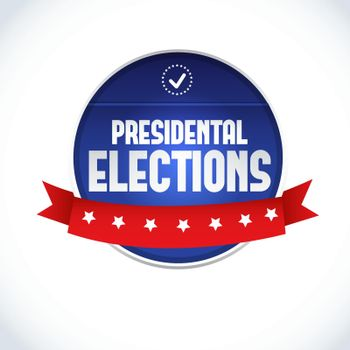 USA Presidential Election Lable