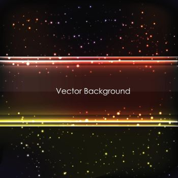 Abstract Colored Glowing Background