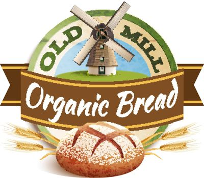 Bakery Label Illustration