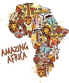 Africa Sketch Concept