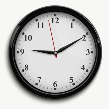 Office Clock Illustration
