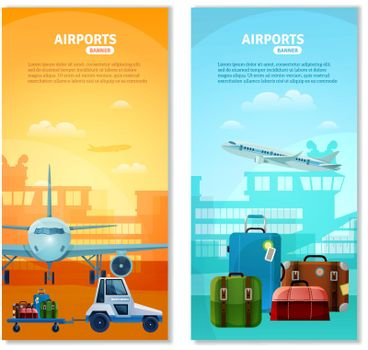 Airport Vertical Banners