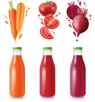 Vegetable Juices Set