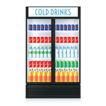 Vertical Refrigerator Template