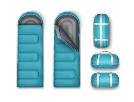 Set of sleeping bags
