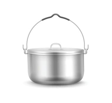 Vector Camping pot