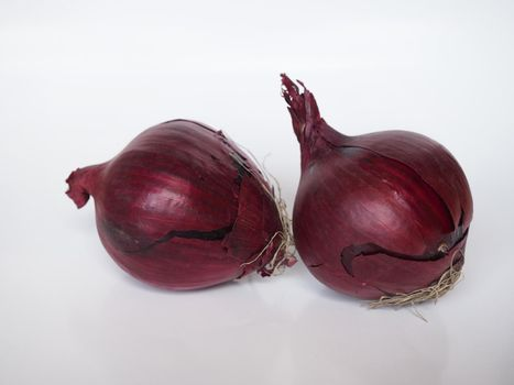 red onions vegetables food