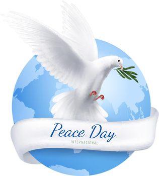 White Dove Emblem