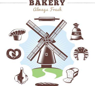 Vintage Bakery Element Set