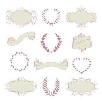 Wedding graphic collection