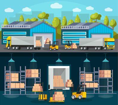 Warehouse Logistics Compositions