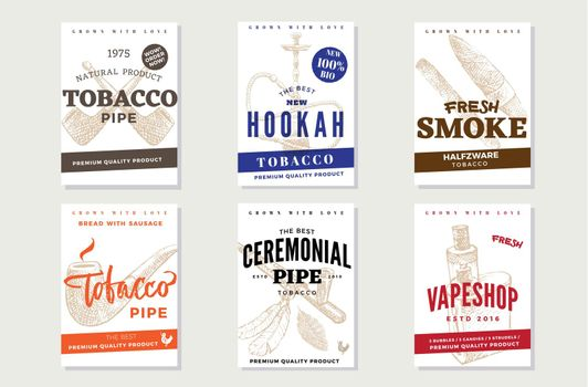 Vintage Tobacco Advertising Posters