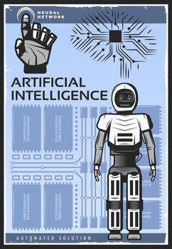 Vintage Artificial Intelligence Poster