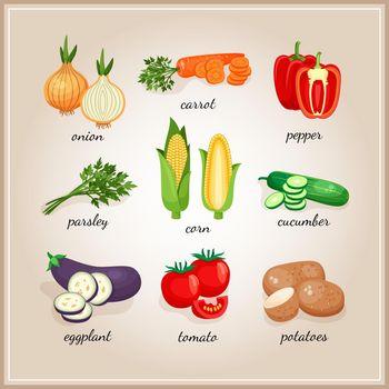 Vegetables ingredients