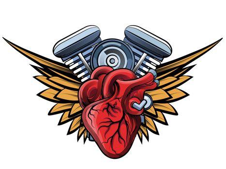engine tatoo label