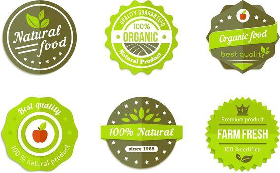 natural badges