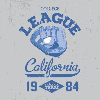 California College League Poster