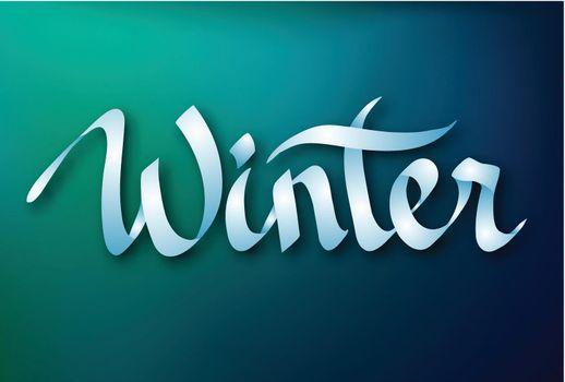 Calligraphic Inscription Design Concept