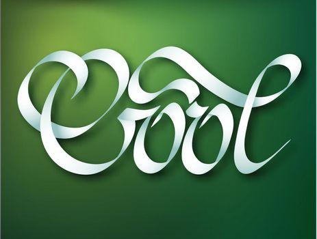 Calligraphic Inscription Template
