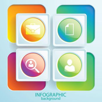 Web Business Infographic Elements