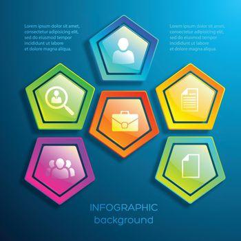 Web Colorful Digital Infographics