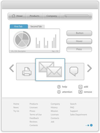 Web Page Elements Template