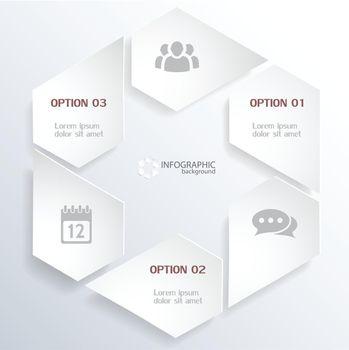 Web Infographic Concept