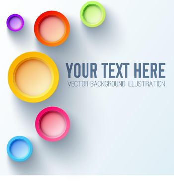 White Background Template For Your Text
