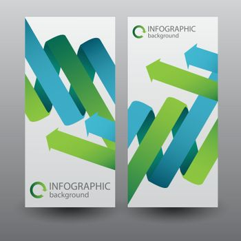 Infographic Vertical Banners