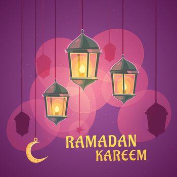 Ramadan Lanterns Illustration
