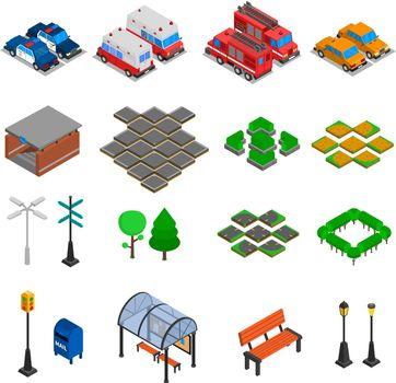 City Infrastructure Elements Set