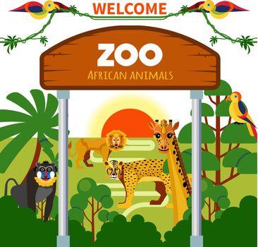 Zoo African Animals