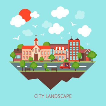 City scape background