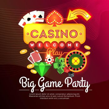 Welcome Casino Poster