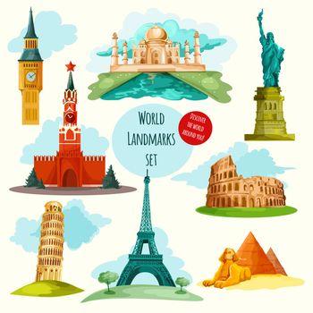 World Landmarks Set