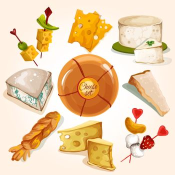 Cheese sketch collection