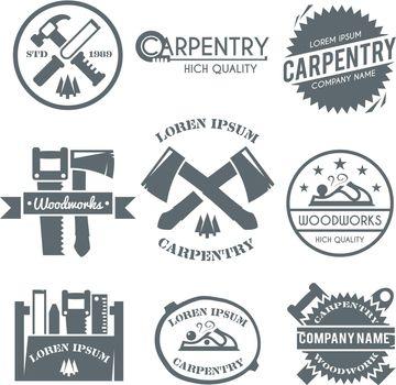 Carpentry Label Set