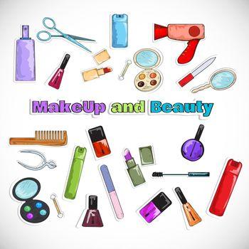 Beauty Salon Doodles