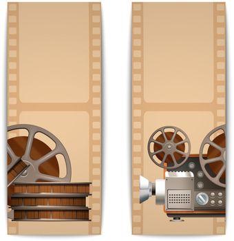 Cinema Banners Vertical