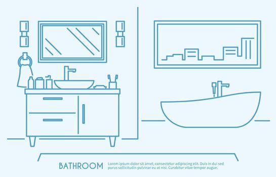 Bathroom Furniture Outline