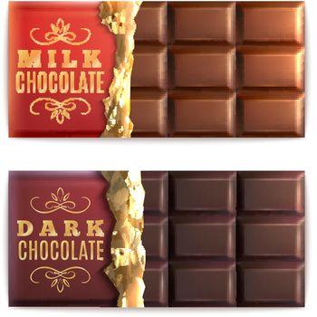 Chocolate Bars Set