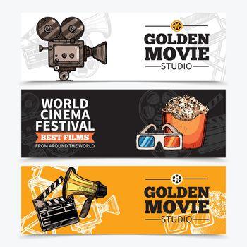 Cinema Horizontal Banners
