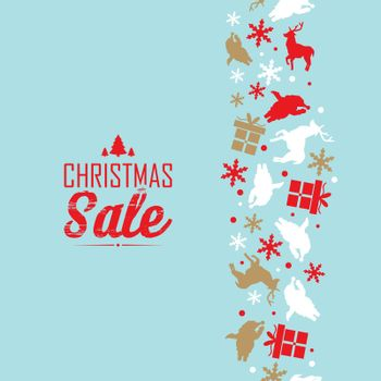 Christmas Sale Event Poster