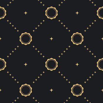 Baroque seamless background